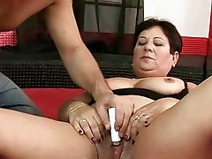 Fat grandma getting fucked hard