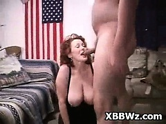Hot Drilling In Pervert BBW Chick Bush Hole