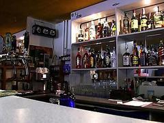 Barmaid Lenka fucked for a chunk of cash
