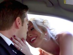 Bride enjoys one last anal fuck with the best man