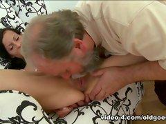 Horny pornstar in Amazing College, Threesomes porn scene