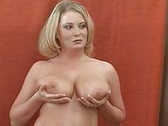 Large tits hottie charms a cock with riding