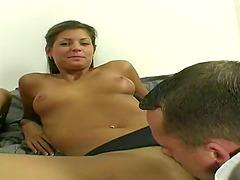Two Sexy and Pretty Euro Chicks Sharing Two Dicks in Foursome