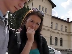 HUNT4K. Naughty man made beautiful brunette cheat on her docile BF