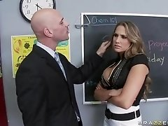 Mean Teacher Fuck Her Former Student