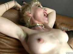Sex starved slut Dalny Marga loves it when her lover goes rough on her
