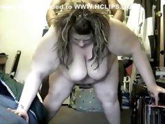 Exotic private nerdy, bbw, black guy porn clip