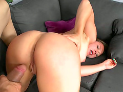 Shaved Wet And Slimy Vagina Is Ready For Licking