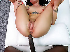 sweet and cute Alex adores doggy style after a blowjob by the pool