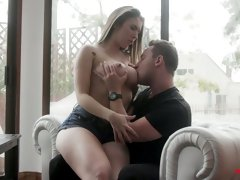 Hypnotizing big jugs of sex-appeal young seductress Lena Paul