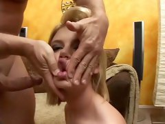 Incredible pornstar Riley Ray in fabulous blonde, swallow adult video