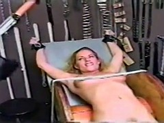 busty blond tickle challenged