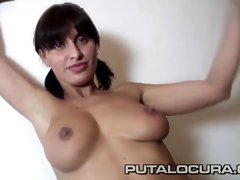 Hottest pornstar Veronica Vanoza in Crazy Big Tits, Brunette xxx movie