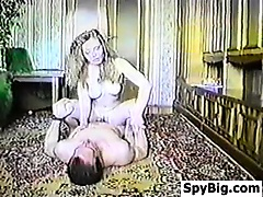 Retro Tape Of Sex Being Secretly Recorded