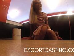 Real Escort Video of Parisian Teen Secrelty Filmed