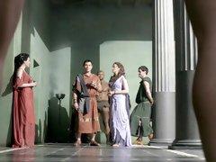 Jessica Grace Smith sex scenes in ' Spartacus: Gods Of The Arena '