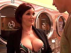 Hot MILF Claire Dames Cums