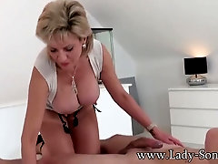 Brit mature Doll Sonia hotwife on her spouse