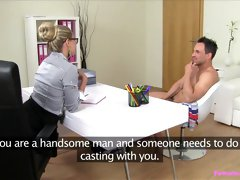 Crazy pornstar in Fabulous Casting, Lingerie sex clip