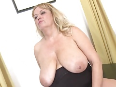 Mature great tits