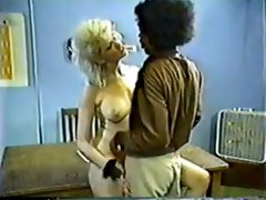 Tall Blonde gets a black cock