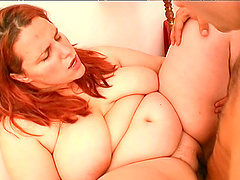 Incredible Rough Sex With A Kinky BBW Redhead