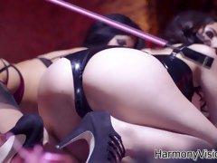 Hottest pornstars Megan Coxxx, Skin Diamond in Horny HD, Lesbian sex clip