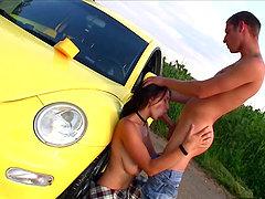Kinkiest Big Tits Action Featuring Berta and Kamil