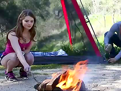 Rough Sex Outdoors With The Hot Teen Alice March