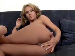 Horny pornstars Zuzana Z and Zuzana Zeleznovova in best masturbation, dildos/toys porn clip