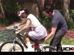 Emily Mena in Itty Bitty Bicyclist