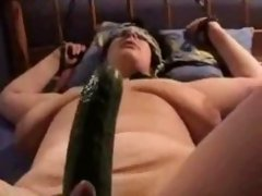 Cucumber and bondage