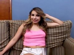 Hot Carmen Caliente gets a deep creampie