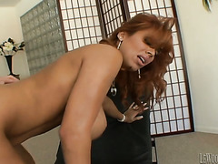 Horny Latina gets her pussy properly fucked after sucking a cock