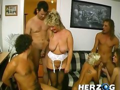 There's a lot to like about this orgy video and these chicks are so sexy