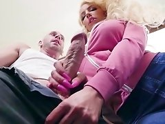 Bedroom rough sex for the step mommy