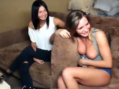 Teen Caught Stripping on Cam Part1 -  Part2 on CamsVibe