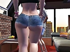 3d mom give ass