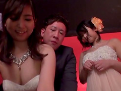 Elegant Japanese chicks want to be fucked by their master