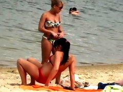 Slags On The Beach