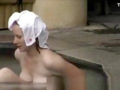 Public bath in Japan
