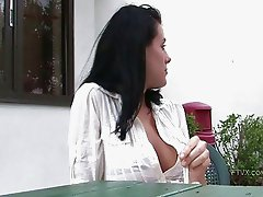 Ftv girl,Kate,cute brunette girl talking about herself