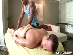 Erotic massage leads to amazing hot anal