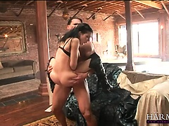 Rebeca gets pounded hardcore by her naughty stud