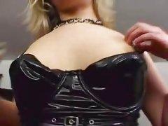 Aaralyn Barra Gets 3 Black Cocks